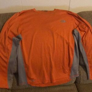 North Face Exercise Shirt